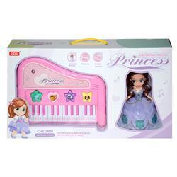 24 Tuşlu Prenses Oyuncak Piano