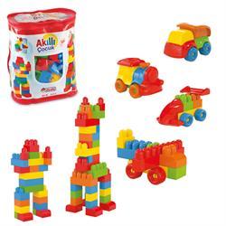 Akıllı Çocuk 125 Parça Torbalı Lego Oyun Seti