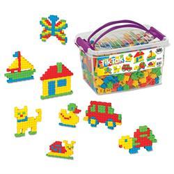 Tik Tak 500 Parça Eğitici Lego Oyun Seti