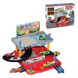 2 Katlı Araç Otopark Oyun Garaj Seti