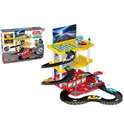 3 Katlı Araç Otopark Oyun Garaj Seti