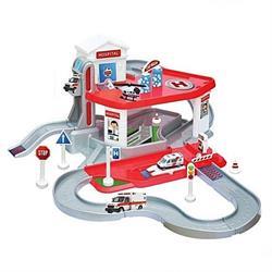 2 Katlı Hastane Garaj Seti ve Mega Pisti Oyun Seti