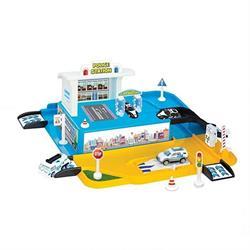 Polis İstasyonu Garaj Set