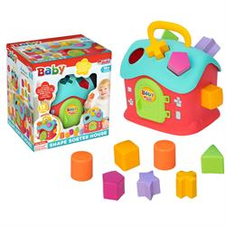 Bul-Tak Ev Bebek Akıl Oyuncak Seti