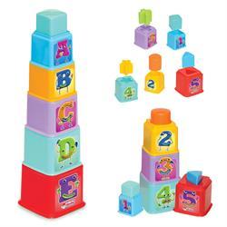 Kare Kule Bultak Bebek Aktivide Oyun Seti