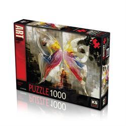 11257 Puzzle 1000/KELEBEK ETKİSİ ALİ EM PUZZLE 1000 PARÇA