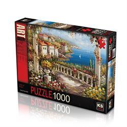 11343 Puzzle 1000/SPRİNG BLUES LAND OF PUZZLE 1000 PARÇA