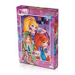 WINX 113 Puzzle 200/WINX PUZZLE 200 PARÇA