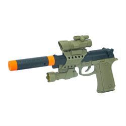 01078 Sesli ve Işıklı Askeri Silah Hareketli Mekanizma