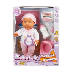 Bebelou Tuvalet Zamanı Sesli Bebek