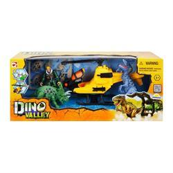 Dino Valley Dinozor Yakalayacı Araç Oyun Seti - Helikopter