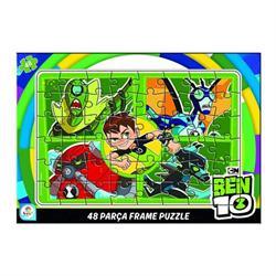 Ben10 48 Parça Frame Çocuk Puzzle
