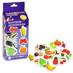 36 Parça Magnet Meyve Sebze Manyetik Meyveler