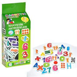 47 Parça Magnet Rakamlar Manyetik Sayılar