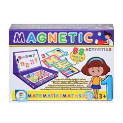 Manyetik Matematik Aktivite Oyun Seti