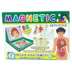 Manyetik İnsan Anatomisi Aktivite Oyun Seti