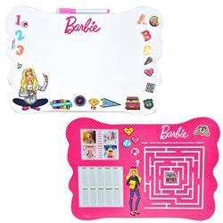 Orjinal Barbie Çift Taraflı Lisanslı Yazı Tahtası