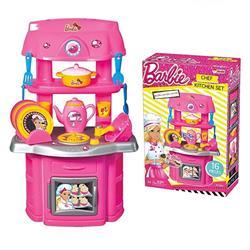 Oyuncak Barbie Şef Mutfak Seti