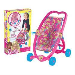 Barbie Oyuncak Kalpli Puset (Bebeksiz)