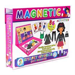 Manyetik Kız Giydirme Aktivite Oyun Seti