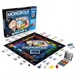 E8978 MONOPOLY ÖDÜLLÜ BANKACILIK/ Hasbro Gaming +8 yaş