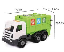 Polesie Prestij Geri Dönüşüm Aracı Çöp Kamyonu