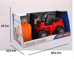 36759 Paletli Forklift (30 tasarım parçalı super-mix) (kutuda)