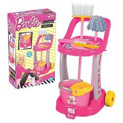 Orjinal Lisanslı Barbie  OyuncakTemizlik Arabası