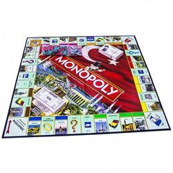 01610 MONOPOLY TÜRKİYE/ Hasbro Gaming +8 yaş