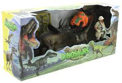 Dinozor Avcısı Helikopter ve  Figür Oyun Seti