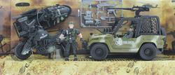 10910 COMBAT FORCE JEEP VE BOT -MGA