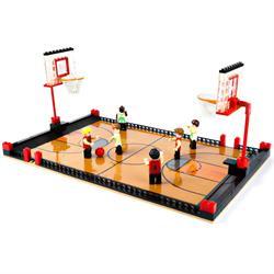 Ausini Sport Set Çift Pota Basketbol 250 Parça Mini Lego