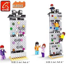 Ausını Lego 210 Parça Tırmanış Duvarı