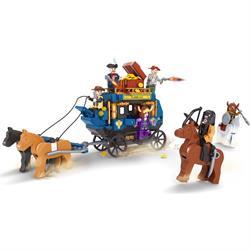 Ausını Lego 348 Parça Vahşi Batı Oyun Seti