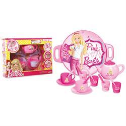 Barbie Tepsili Çay Set