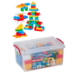 Dede Oyuncak 58 Parça Kutulu Lego