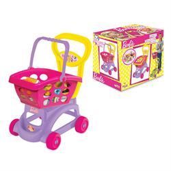 Orjinal Lisanslı Oyuncak Barbie Sepetli Market Arabası
