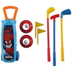 Oyuncak Spiderman Golf Arabası Seti