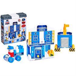 Dede Oyuncak 60 Parça Lego İlk Polis İstasyonum