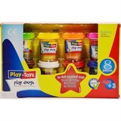 Play-toys 8li Oyun Hamuru