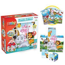 Resimli Küpler 9 Parça  Bebek Aktivite Oyun Seti
