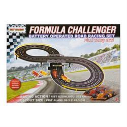 Formula Challenger Yarış Seti ile Macera Dolu Bir yarış Oyun Seti