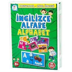 İngilizce Alfabe Eğitim Kartları