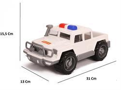 Polesie Oyuncak Polis Devriye Arabası Pikap