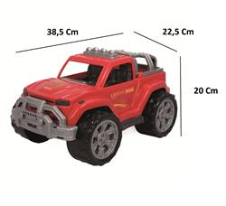 Polesie Kırmızı Lejyon Pickap Jeep