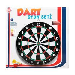 Kutulu Çivili 41,5 Cm Dart Oyun Seti