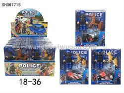 18-36 POLİCE LEGO MİNİK STANDLI -SAG