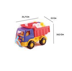 Polesie Oyuncak Mini Kamyonet  9 Parça Legolu