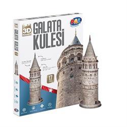 3 Boyutlu Galata Kulesi Maket Puzzle Pal