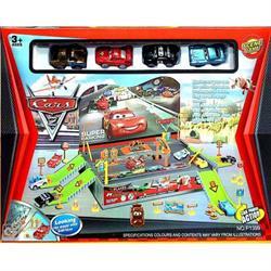 Arabalar 4 Katlı Garaj Otopark Seti